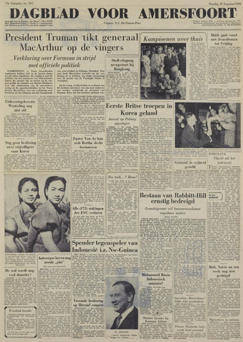 Dagblad voor Amersfoort 1950-08-29