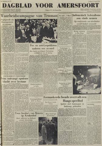 Dagblad voor Amersfoort 1950-04-21