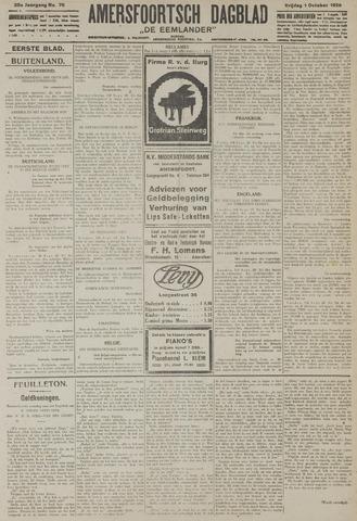 Amersfoortsch Dagblad / De Eemlander 1926-10-01