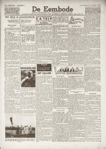 De Eembode 1938-05-21
