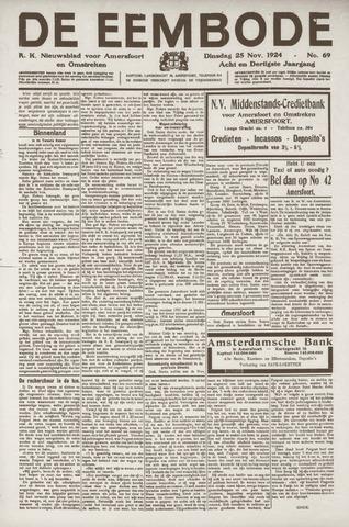 De Eembode 1924-11-25