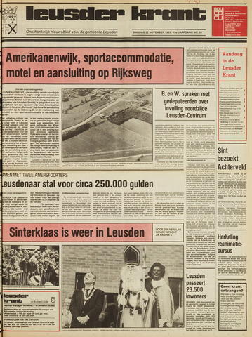 Leusder Krant 1983-11-22
