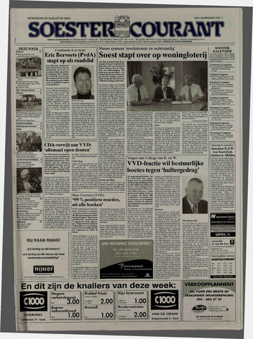 Soester Courant 2003-08-20