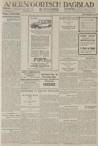 Amersfoortsch Dagblad / De Eemlander 1929-02-18