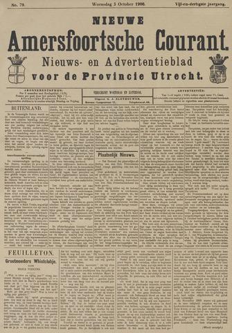 Nieuwe Amersfoortsche Courant 1906-10-03
