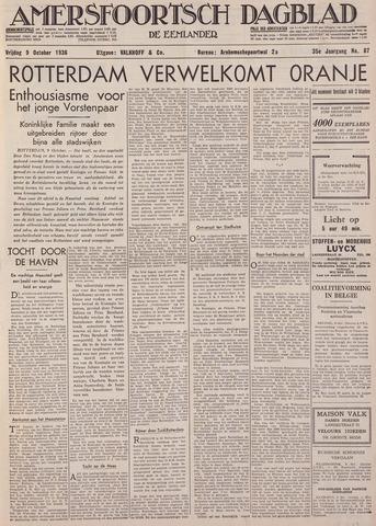 Amersfoortsch Dagblad / De Eemlander 1936-10-09