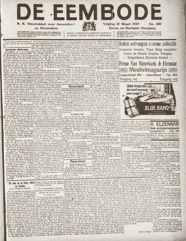De Eembode 1924-03-14