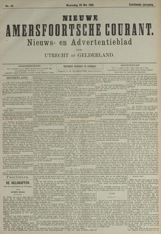 Nieuwe Amersfoortsche Courant 1889-05-29
