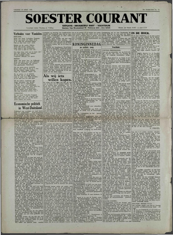 Soester Courant 1949-04-22
