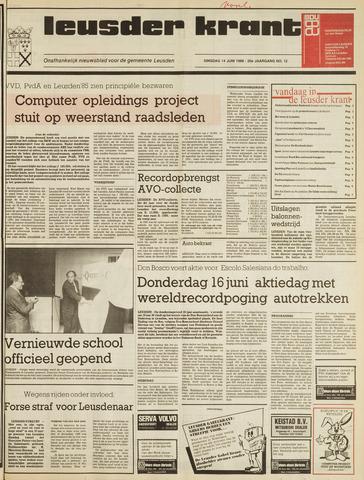 Leusder Krant 1988-06-14