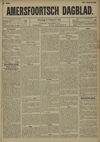 Amersfoortsch Dagblad 1912-02-06