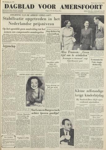 Dagblad voor Amersfoort 1951-06-14