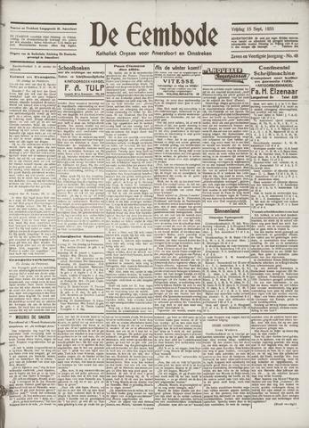 De Eembode 1933-09-15