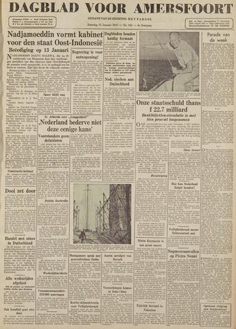 Dagblad voor Amersfoort 1947-01-11