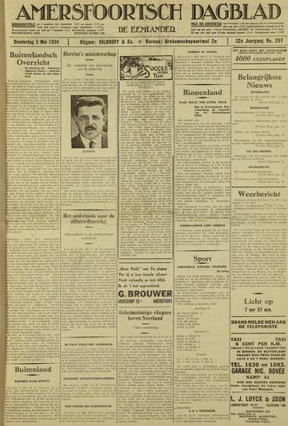 Amersfoortsch Dagblad / De Eemlander 1934-05-03