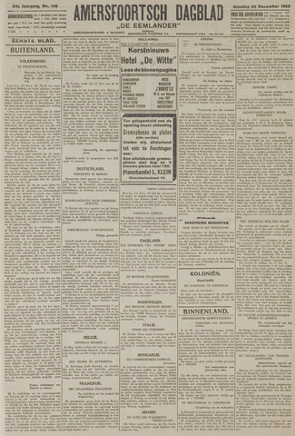 Amersfoortsch Dagblad / De Eemlander 1925-12-22