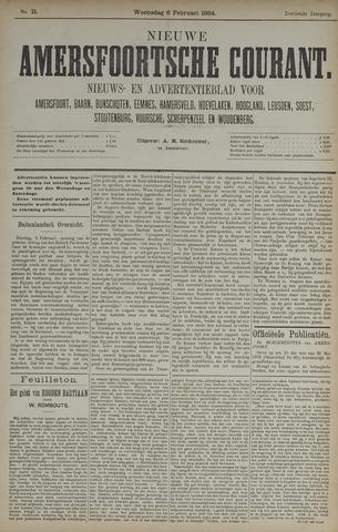 Nieuwe Amersfoortsche Courant 1884-02-06