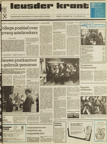 Leusder Krant 1987-11-10