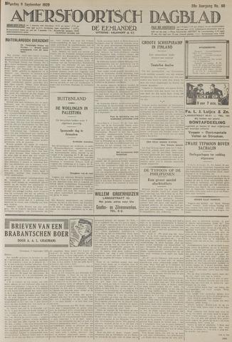 Amersfoortsch Dagblad / De Eemlander 1929-09-09