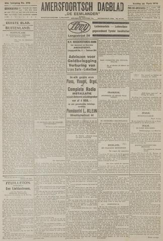 Amersfoortsch Dagblad / De Eemlander 1926-04-30