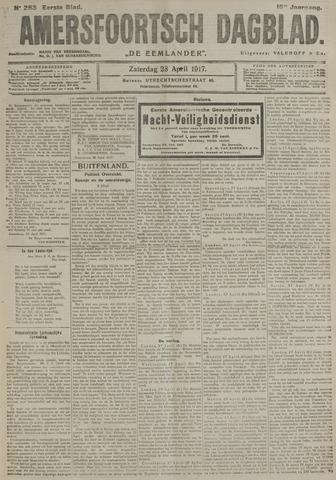 Amersfoortsch Dagblad / De Eemlander 1917-04-28
