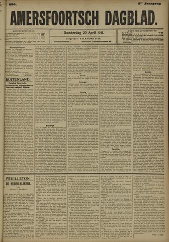 Amersfoortsch Dagblad 1911-04-20