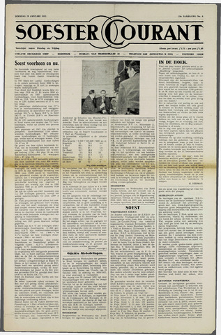 Soester Courant 1952-01-29
