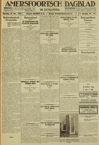 Amersfoortsch Dagblad / De Eemlander 1932-12-28