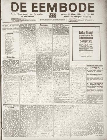 De Eembode 1924-03-21