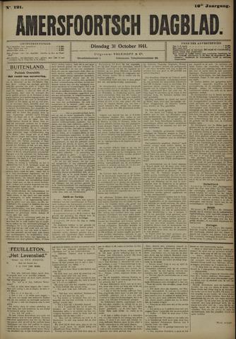 Amersfoortsch Dagblad 1911-10-31