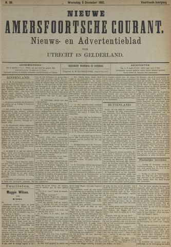 Nieuwe Amersfoortsche Courant 1885-12-09