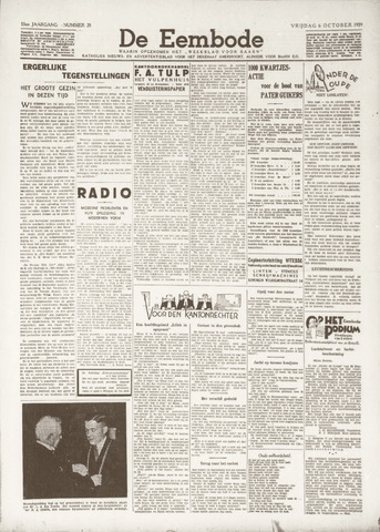 De Eembode 1939-10-06