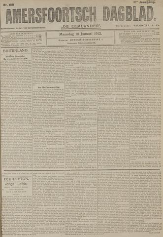 Amersfoortsch Dagblad / De Eemlander 1913-01-13