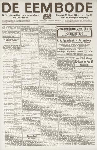 De Eembode 1924-09-23