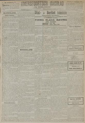 Amersfoortsch Dagblad / De Eemlander 1919-09-13
