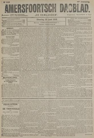 Amersfoortsch Dagblad / De Eemlander 1916-06-20