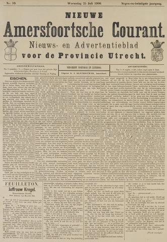 Nieuwe Amersfoortsche Courant 1900-07-25