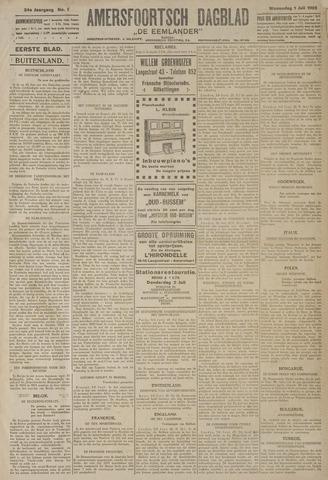 Amersfoortsch Dagblad / De Eemlander 1925-07-01