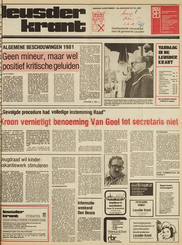 Leusder Krant 1980-11-18