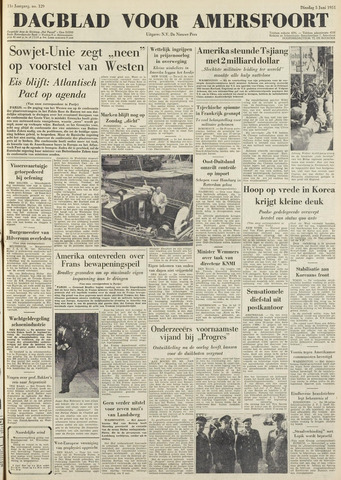 Dagblad voor Amersfoort 1951-06-05