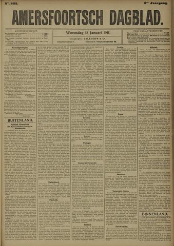 Amersfoortsch Dagblad 1911-01-18