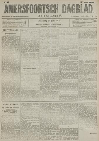 Amersfoortsch Dagblad / De Eemlander 1913-07-21