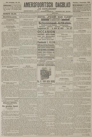Amersfoortsch Dagblad / De Eemlander 1925-09-01