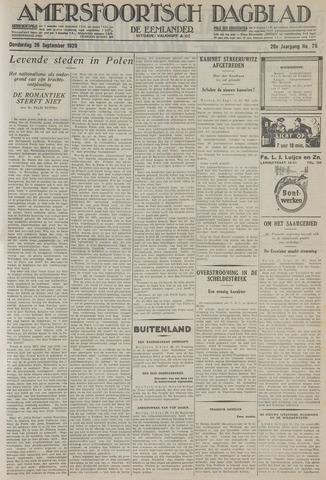Amersfoortsch Dagblad / De Eemlander 1929-09-26