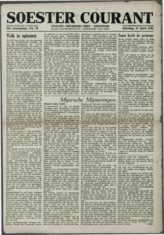 Soester Courant 1946-04-16