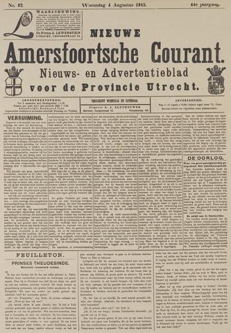 Nieuwe Amersfoortsche Courant 1915-08-04