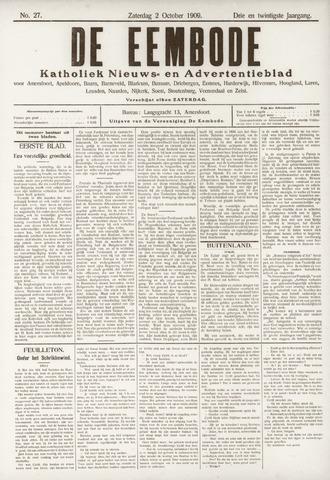 De Eembode 1909-10-02
