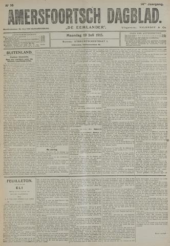 Amersfoortsch Dagblad / De Eemlander 1915-07-19