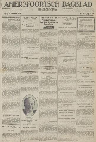 Amersfoortsch Dagblad / De Eemlander 1928-12-21
