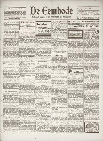 De Eembode 1932-11-11